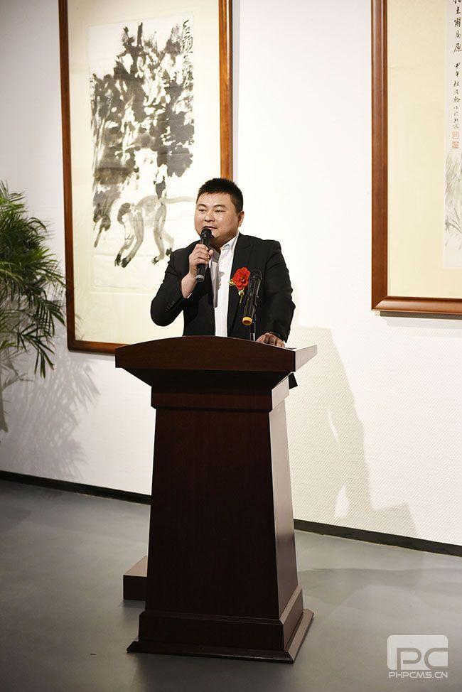 上海盐商集团副总姚文统先生致词